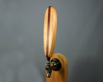 Surfboard Longboard Style Beer Tap Handle - Custom Made to Order