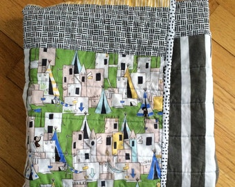 One of a Kind Baby Quilt, Gender Neutral