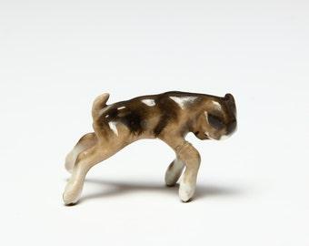 HTF Butting Kid Goat Figurine -  Hagen Renaker REDUCED PRICE