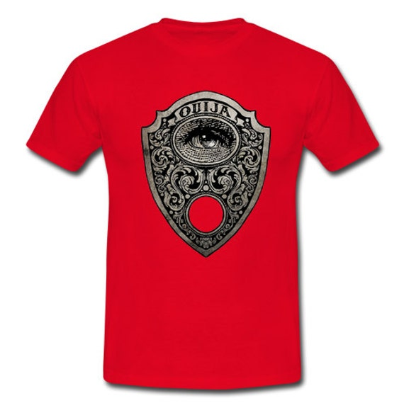 Ouija Planchette Mystical Eye Tee Shirt