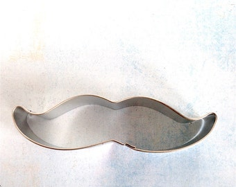 Mustache Cookie Cutter / Handlebar Mustache Cookie Cutter