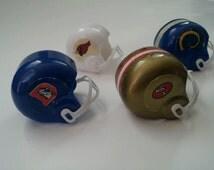 Unique Nfl Mini Helmet Related Items Etsy