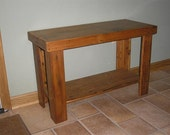 Reclaimed wood - TV Stand Side Table [TC100]