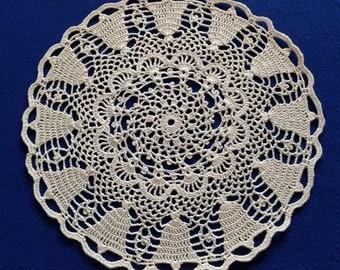 Bells Hand Crochet Doily - **NEW**