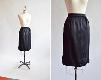 Vintage 1980s YSL pencil skirt