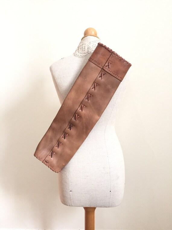 Bow And Arrow Bag : Leather arrow bag bow and case archers