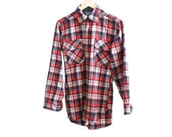 PENDLETON western long sleeve PLAID button up SMALL