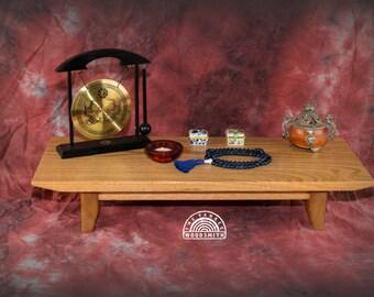 9X24 Oak Meditation Altar