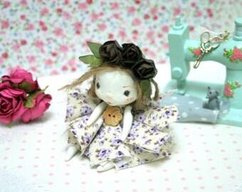 Little OOAK articulated doll