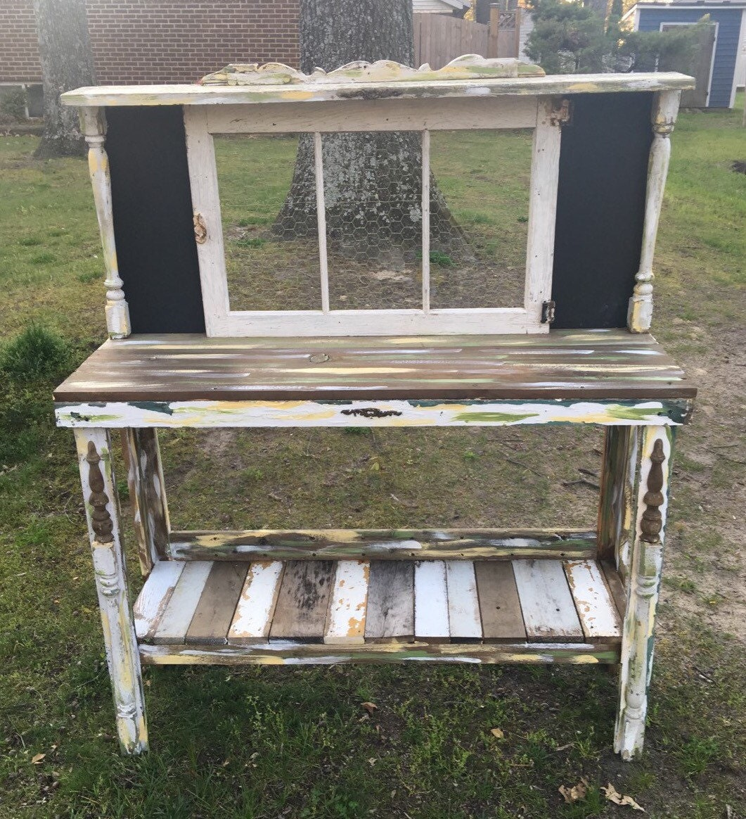 Shabby Chic Potting Bench Custom Order