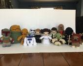 Purchase three Star Wars Amigurumi and save