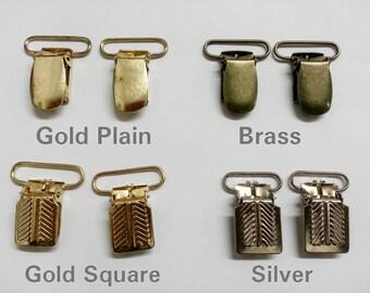 Suspender, Mitten, Pacifier Clips - 2 ct