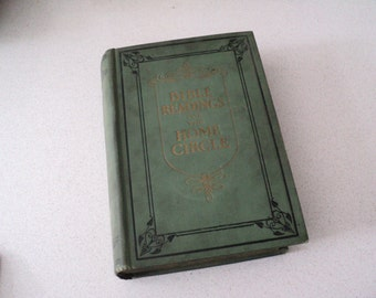 1923 Bible Readings for the Home Circle. 300 Illustrations. Seventh Day Adventist.