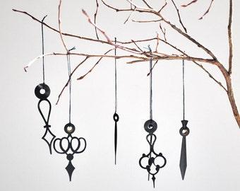 6 clock hand ornaments #6