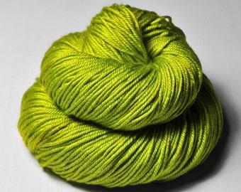 Drunken acorn bloom OOAK - Silk/Merino DK Yarn superwash