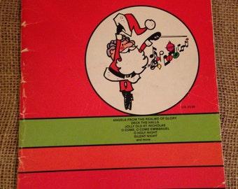 Kimball Christmas Sheet Music Book 1977