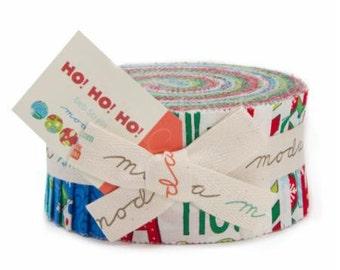 Ho Ho Ho Jelly Roll from Deb Strain and Moda