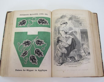 Original Peterson's Magazine, Full Year 1862