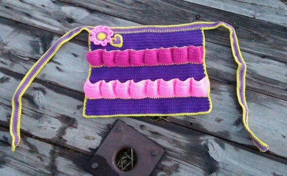 Crochet Egg Apron : Original Egg Apron,Egg Apron,Crocheted Apron,Reviewed by Community ...