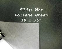 Slip Not  Foliage Green Fabric 18 x 36