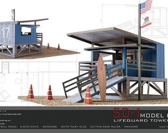 CALIFORNIA LIFEGUARD TOWER