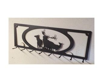Elk Key Rack