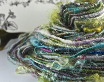 Handspun Art Yarn Corespun Sheeping Beauties  'Ophelia'