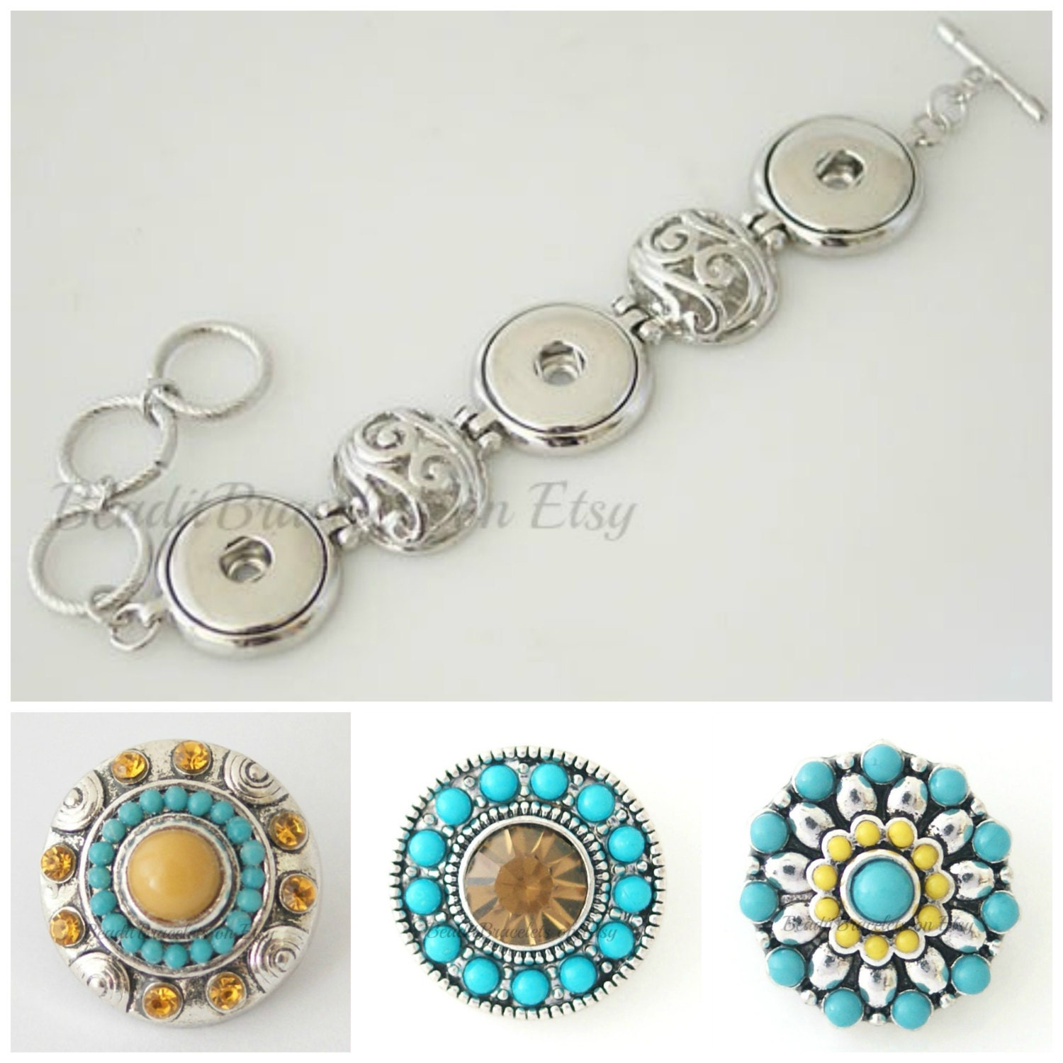 Interchangeable with Ginger Snaps Jewelry and Noosa by ...