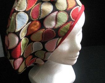 Colorful big beret