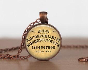 Oujia Board Pendant Jewelry Oujia Board Necklace