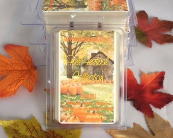 100% Soy Wax Breakaway Melts - Fall Festival Collection (3 pack)