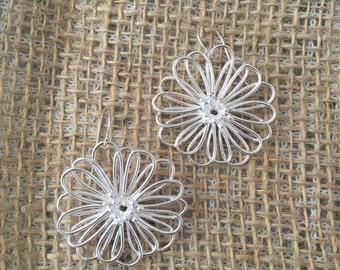 Filigree Flower Frenzy earrings