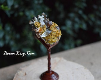 Teeny Tiny Miniature Woodland Faery Spell Book - Secrets of the Fae
