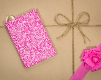Pink, Agility journal, hard cover, handmade, speciality notebook