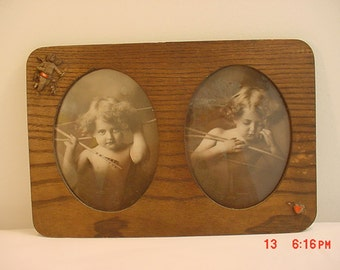 Antique Cupid Awake / Cupid Asleep Framed Prints  16 - 283