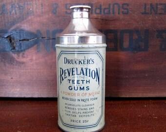 Drucker's Revelation Powder Tin