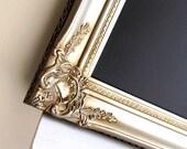 Champagne Wedding CHALKBOARD Wedding Seating Chart Wedding Decoration Gold Silver Large MAGNETIC Chalk Board Black Board Wedding Menu Sign