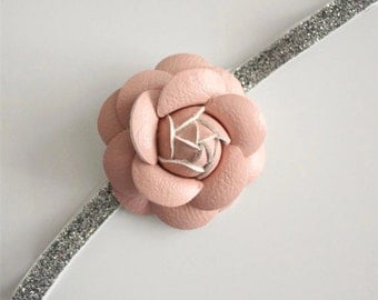 Blush Rose Headband
