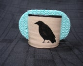Kitchen Sponge Holder with Raven