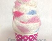 Fuzzy Sock Cupcakes, Party Favors For Women, Teacher Appreciation, Sweet Sixteen Party Favor, Womens Fuzzy Socks,