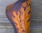357 Magnum holster Oak leaves and Acorns
