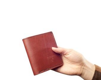 Bifold Wallet: Oxblood