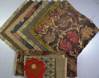 Carpetbag KIT ~ Brown/Tan/Red
