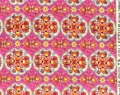 Picadilly medallion pink DS Quilts Denyse Schmidt fabric  FQ or more