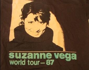 Suzanne Vega - Vintage 1987 Concert Tour T-Shirt