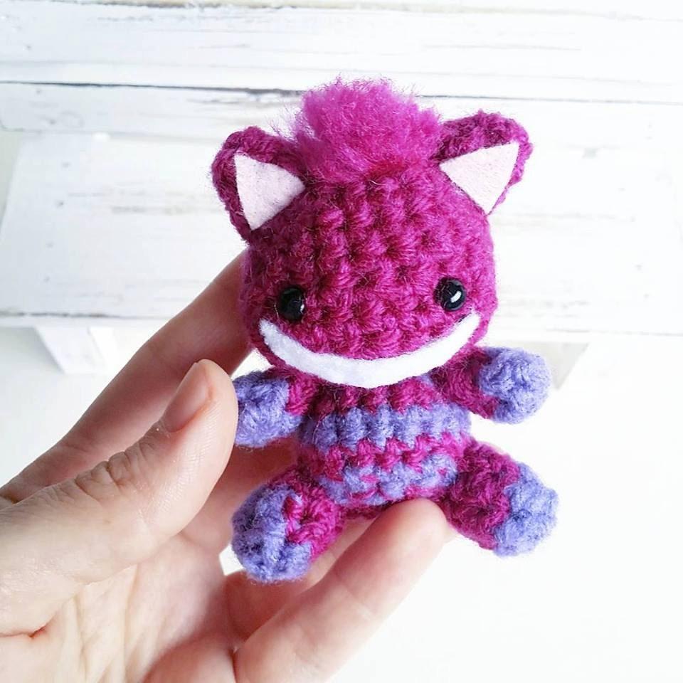 Cheshire Cat Amigurumi Pattern : Cheshire Cat Amigurumi by AnyaZoe on Etsy