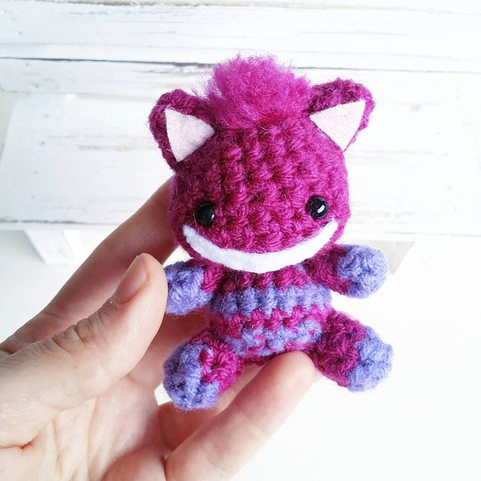 Cheshire Cat Amigurumi : Cheshire Cat Amigurumi by AnyaZoe on Etsy
