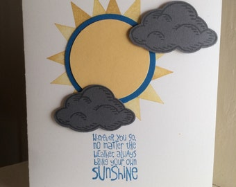 Sunshine Inspirational Greeting Card