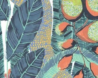 Viridian Tropics Print
