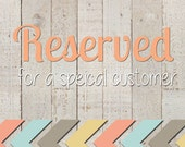 Reserved for Haley